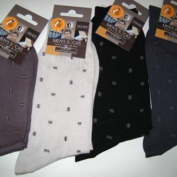 chaussettes fil d'écosse pour homme - petits dessins