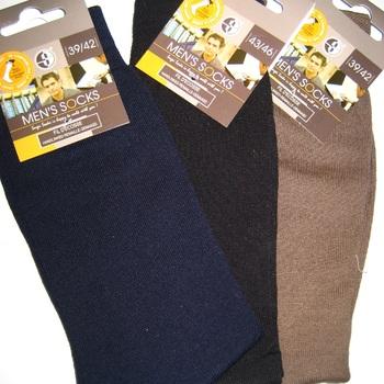 chaussettes fil d'écosse unies