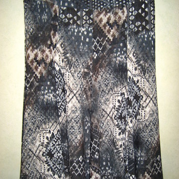 jupe tricot à motif pour dame