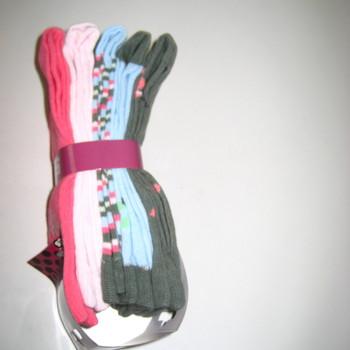 chaussettes coton pour 36/41 flamingo : 5 pour 3.80€