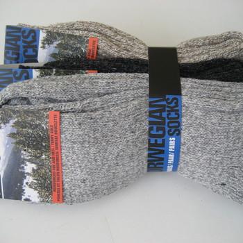 chaussettes chinées avec laine pour homme : 3 pour 4€