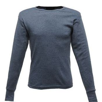 t-shirt longues manches thermal cotelé jeans