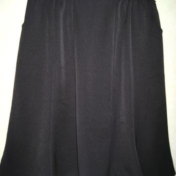 jupe godet taille élastique noire pour dame - jusque taille 56