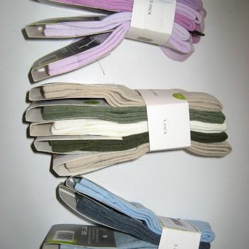 chaussettes unies pour enfant: 5 pour 1€ - PROMO