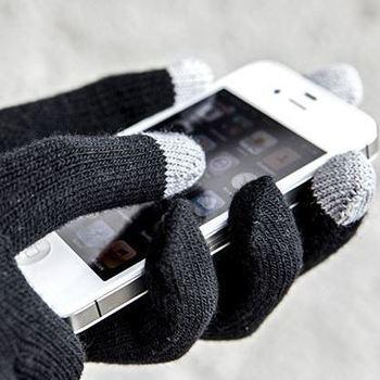 gants touchscreen tricot pour les écrans tactiles