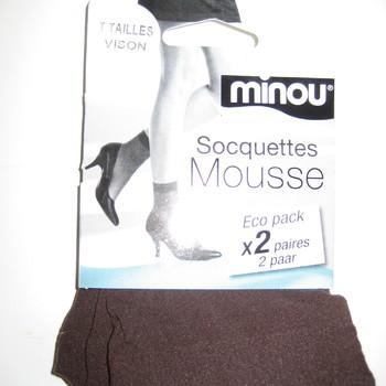 socquettes en mousse : 2 pour 1.60€