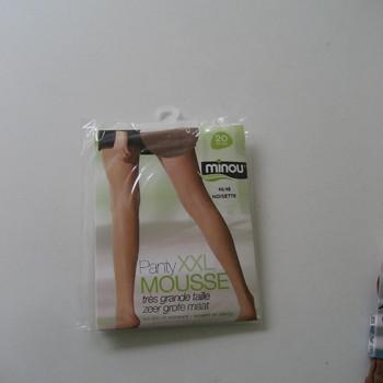 panty mousse grandes tailles pour dame - minou