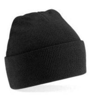 bonnet tricot avec bord en différents coloris