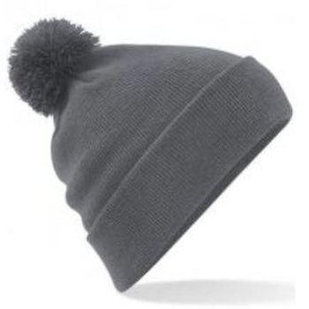 bonnet tricot doublé à pompon en différents coloris