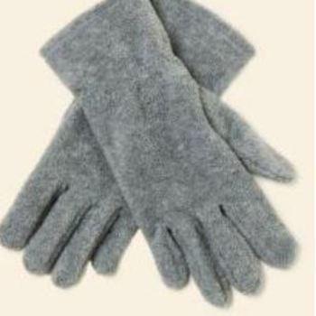 gants polaire c1863 gris chiné