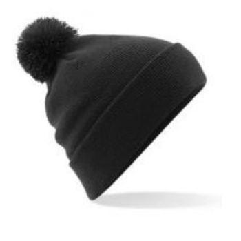 bonnet pompon noir
