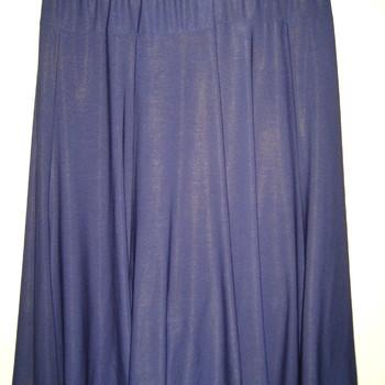 jupe fluide unie en 3 coloris pour dame
