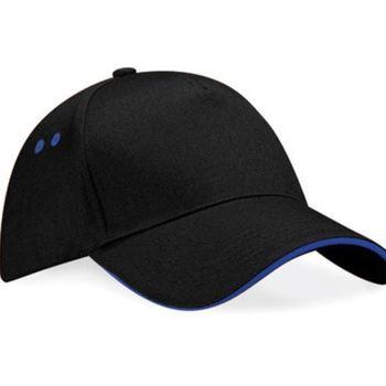 casquette noire liseraie bleu