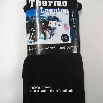 legging thermo de 6 à 14 ans