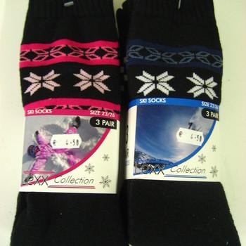 3 paires de longues chaussettes chaudes pour enfant EN PROMO