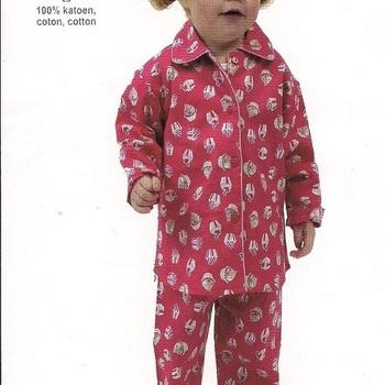 pyjama flanelle cups - reste 2 & 3 ans EN PROMO