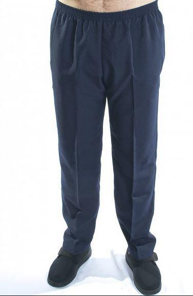pantalon taille lastique avec poches tissu lourd. Black Bedroom Furniture Sets. Home Design Ideas