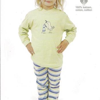 pyjama coton poules
