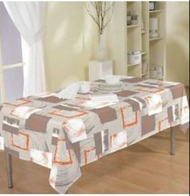 nappe polyester 140*250cm - orange