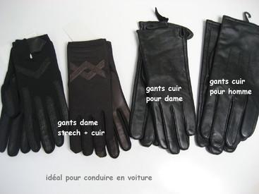 gants pour dame