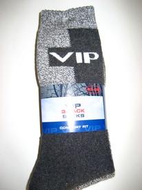 chaussettes de sport ou de travail avec du coton VIP 39/42 : 3 pour 4.50€