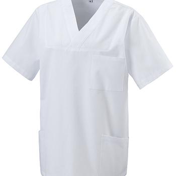 blouse médicale courtes manches avec 3 poches ou kazak