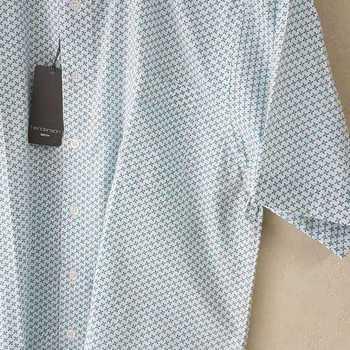 chemise courtes manches polyester/coton henderson pour homme - x blanc - reste L