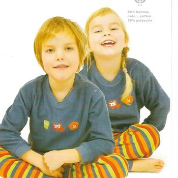 pyjama strech pour enfant de 2 - 4- 5 ans EN PROMO