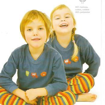 pyjama strech pour enfant de 2 ans - 4 ans EN PROMO - gris