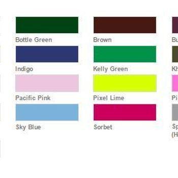t-shirt courtes manches uni 190g - grand choix en coloris à partir de