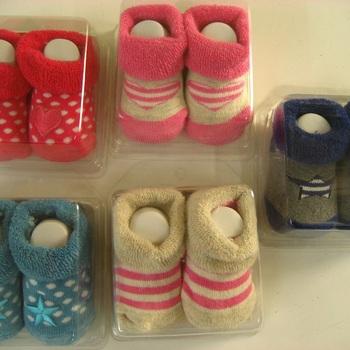 chaussons en boîtes