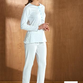 pyjama molletonné pour dame - katherina
