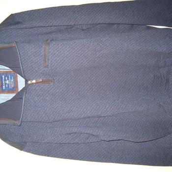 pull 1/2 tirette sweat chiné bicolore pour grandes tailles - homme 3XL - 4XL - 5XL - 6XL