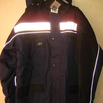 veste ou parka avec bande réfléchissante jmp pour homme - jusque XXL