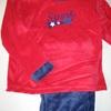 pyjama velours rasé pour garçon - sport 42 boy EN PROMO - rouge reste 4 ans