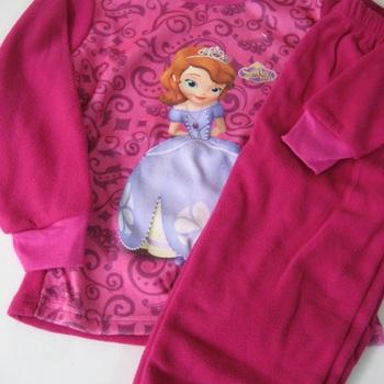 """pyjama polaire """"princesse sofia"""" pour fille de 2 à 6 ans EN PROMO"""