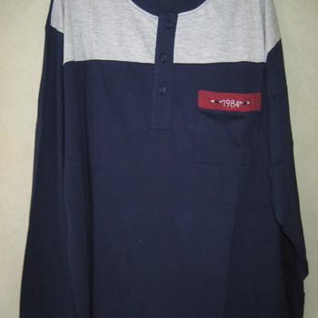 pyjama coton jersey col tunisier - cambier pour homme XXL EN PROMO