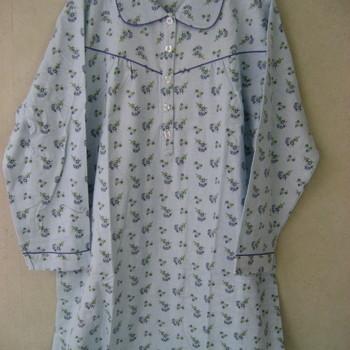 robe de nuit lm flanelle pour dame RESTE S et XXL