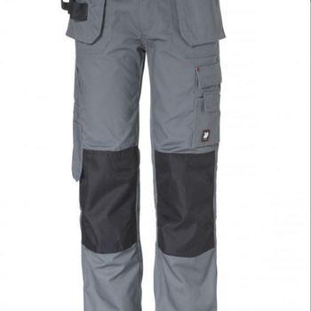 pantalon multi-poches en gris ou noir