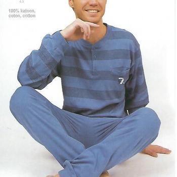 pyjama coton lourd (interlock) pour homme - jeans