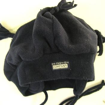 bonnet polaire marine - 4 pompons en PROMO