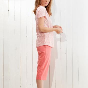 pyjama corsaire coton pour dame - jennie - jusque 3XL
