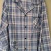 pyjama boutonné coton pour homme - grands carreaux - Cambier
