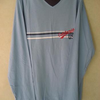 pyjama coton jersey V vert ou bleu : cambier pour homme EN PROMO