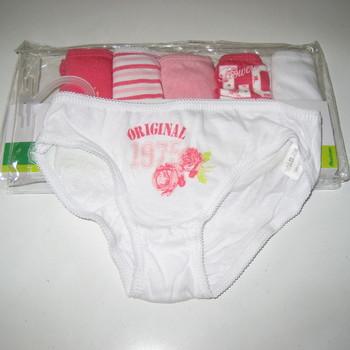 culottes coton taille 2/3 ans pour fille : 6 culottes pour 5 €