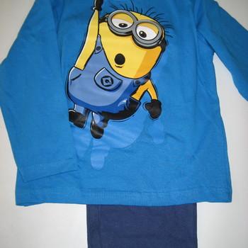 pyjama coton jersey minions pour enfants de 2 à 9 ans