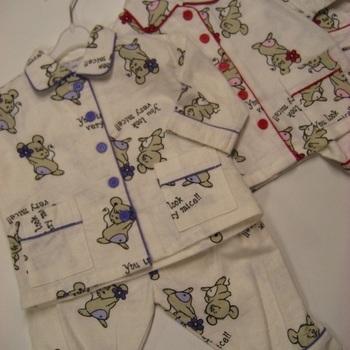 pyjama 2 pièces flanelle souris - reste 74 - 80