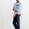 pyjama coton jersey pour homme - maurice - aussi de grandes tailles