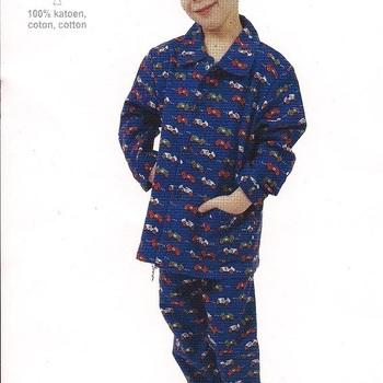 pyjama flanelle 2 pièces auto reste 12 mois