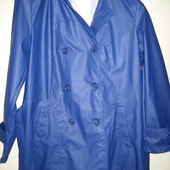 veste imperméable bleu pour dame jusque taille 54